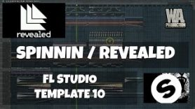 FL Studio Template 10 Spinnin Revealed EDM 2016 Style Project FREE Samples Presets - FL Studio Template 10: Spinnin / Revealed EDM 2016 Style Project (+ FREE Samples, Presets)