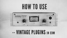 How To Use Vintage Plugins in EDM with Kirk Degiorgio Snare through 1176 J37 and Kramer Tape - How To Use Vintage Plugins in EDM with Kirk Degiorgio - Snare through 1176, J37 and Kramer Tape