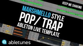 "Marshmello Style Pop Trap Ableton Template Keep Me Shaking by Abletunes - Marshmello Style Pop / Trap Ableton Template ""Keep Me Shaking"" by Abletunes"