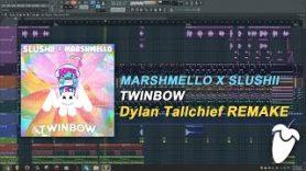 Marshmello x Slushii – Twinbow (Original Mix) (FL Studio Remake + FLP)