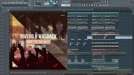 RIVERO Wasback Wait For The Night Suyano Edit FL Studio Remake - RIVERO & Wasback – Wait For The Night (Suyano Edit) FL Studio Remake