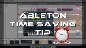Ableton Live 9 Save Time With a Default Template - [Ableton Live 9] Save Time With a Default Template