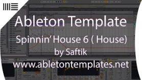 Ableton Live House Template SpinninHouse 6 by Saftik - Ableton Live House Template - Spinnin'House 6 by Saftik