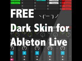 Download Best dark skin template ever for Ableton Live! Free! :D ...