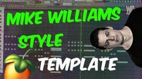 Bouncy MIKE WILLIAMS style FLP FL Studio template 39 - Bouncy MIKE WILLIAMS style FLP | FL Studio template 39