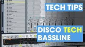 Create a Disco Tech Bassline Tom Demac - Create a Disco Tech Bassline - Tom Demac