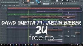 David Guetta ft. Justin Bieber – 2U (FL Studio Remake) [FREE FLP]