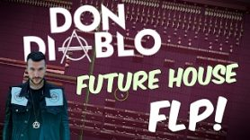 Don DIABLO Style Future House FLP FL Studio Template 32 - Don DIABLO Style Future House FLP | FL Studio Template 32