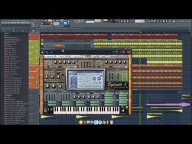 Driving Uplifting Bassline FL Studio Project Template Download