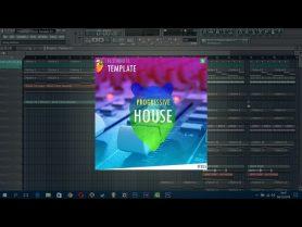 FL Studio 11 // Progressive House Template #15 + FLP