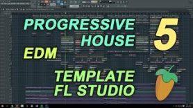 FL Studio – EDM Progressive House Template 5 [FULL FLP]