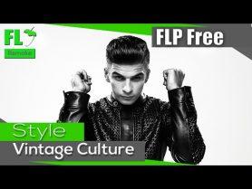FL Studio – Style Vintage Culture (FREE) (Template + FLP)