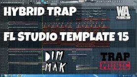 FL Studio Template 15 Autoerotique DIM MAK Style Hybrid Trap Project FREE FLP Samples Presets - FL Studio Template 15: Autoerotique / DIM MAK Style Hybrid Trap Project (FREE FLP, Samples, Presets)