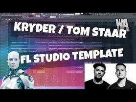 FL Studio Template 18: Kryder / Tom Staar Style Groove House Project (+FREE FLP, Samples Presets)