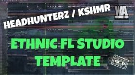 FL Studio Template 6 Ethnic EDM Headhunterz KSHMR Inspired Project FREE FLP Presets Samples - FL Studio Template 6: Ethnic EDM Headhunterz / KSHMR Inspired Project (FREE FLP, Presets, Samples)