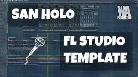 FL Studio Template 9 Future Bass Chillstep Trap San Holo Type Project FREE FLP Presets Samples - FL Studio Template 9: Future Bass / Chillstep Trap San Holo Type Project (FREE FLP, Presets Samples)