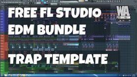 FREE FL Studio EDM Bundle – Electro / Trap Template [+ 106 Sylenth1 Ultimate Pluck Presets]