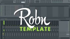 How to set a Fl Studio Template as default
