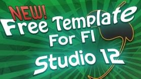 NEW FREE FL Studio 12 Template - NEW | FREE FL Studio 12 Template
