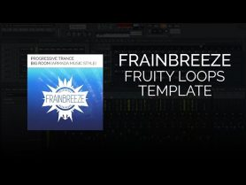 Progressive Trance & Big Room FL Studio Template (Armada Music Style)