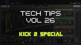 Tuning KICK Drums in KICK 2 - Tuning KICK Drums in KICK 2