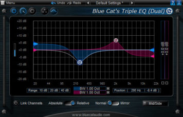 EQ - Blue Cat Audio Blue Cat's Triple EQ