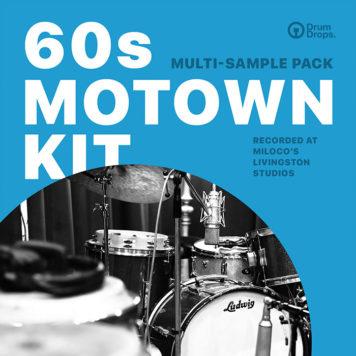 Sample Packs - DrumDrops 60s Motown Kit - Multi-Sample Pack