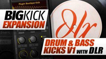 Expansion Packs - Plugin Boutique BigKick Expansion V3 - Drum & Bass Kicks with DLR
