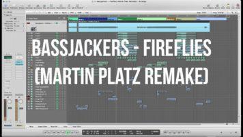 bassjackers fireflies martin pla - Bassjackers - Fireflies (Martin Platz Remake) LOGIC PRO + LLP