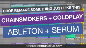 chainsmokers coldplay something - Chainsmokers & Coldplay - Something Just Like This (Drop Remake Serum + Ableton Live)