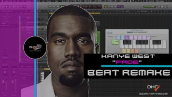 "➢ Chopping Samples: Like Kanye West  In Logic Pro X ""Fade"" Beat Remake :#DailyHeatChecc"