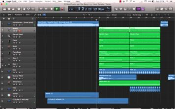 David Guetta feat. Sia -Bang in my Head- Remake Logic Pro x