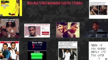 Drake Back To Back Instrumental (Logic Pro X Remake) w/DOWNLOAD