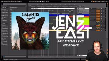 Galantis – Hunter – Ableton Live Full Remake Tutorial