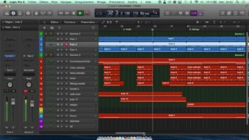 Game of thrones Main theme remake Logic pro X