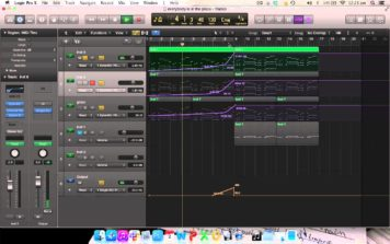 Hardwell – Everybody is in the place chords Logic pro X remake