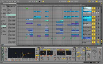 Hayden James Odesza Remix Styled Remake with Ableton & Massive only – Playthrough