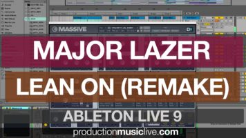 major lazer lean on ableton rema - Major Lazer Lean On - Ableton Remake using Massive: Playthrough Instrumental
