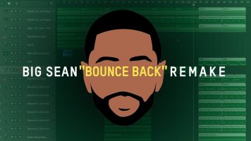 making a beat big sean bounce ba - Making a Beat: Big Sean - Bounce Back (Remake)