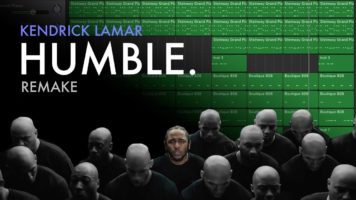 making a beat kendrick lamar hum - Making A Beat: Kendrick Lamar - HUMBLE. (Remake)
