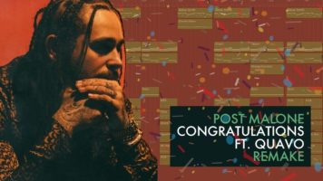 making a beat post malone congra - Making a Beat: Post Malone - Congratulations ft. Quavo (Remake)