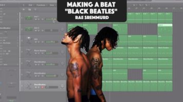 making a beat rae sremmurd ft gu - Making A Beat: Rae Sremmurd ft. Gucci Mane - Black Beatles (Remake)