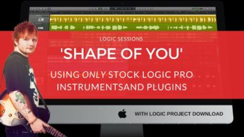 making a beat shape of you remak - Making A Beat: 'Shape Of You' (Remake) / Ed Sheeran Tutorial / Logic Pro Music Production