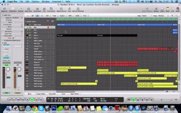 [NEW] Hardwell & Dyro – Never Say Goodbye (Wellmaes Remake) on Logic pro 9 (Free LPP)
