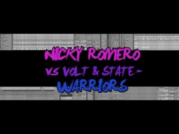 NICKY ROMERO vs VOLT & STATE – WARRIORS  ABLETON LIVE REMAKE TEMPLATE PROJECT ALS PROGRESSIVE HOUSE