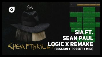 Sia – Cheap Thrills ft. Sean Paul (Logic X Remake + MIDI + Presets)