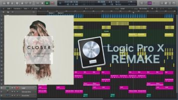 the chainsmokers ft halsey close - The Chainsmokers ft. Halsey - Closer (Remake in Logic Pro X) FREE PROJECT DOWNLOAD