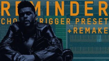 the weeknd reminder chord trigge - The Weeknd - Reminder (Chord Trigger + Logic X Remake)