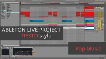 tiesto mike williams i want you 1 - Tiesto & Mike Williams - I Want You Remake & Ableton Live Project