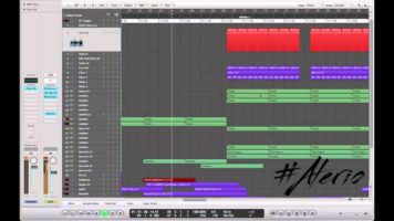Toni Braxton – Make My Heart (Avicii's Replacer Remix) Logic Pro Remake